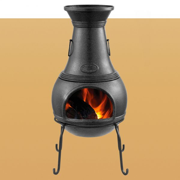Cast Iron Chimenea Rayada Large CC2000